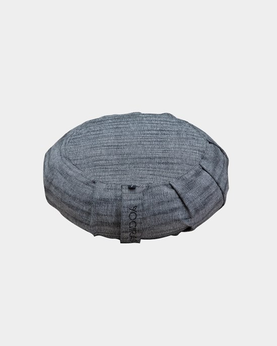 Meditationskudde Ann Ringstrand for Yogiraj Meditation cushion, grey melange
